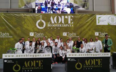 Dirección de la comunicación del concurso gastronómico AOVE Blogger España